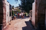Antigua - Nelson's Dockyard.  Pussers Grips in evidence once more concealing polyester trousers and shirts for return o